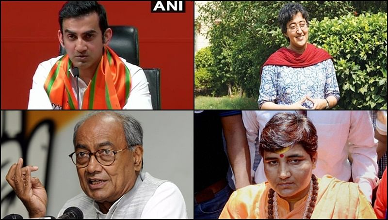 Gambhir vs Atishi, Digvijaya vs Sadhvi: Top 10 political battles to watch out for in 6th phase of LS elections