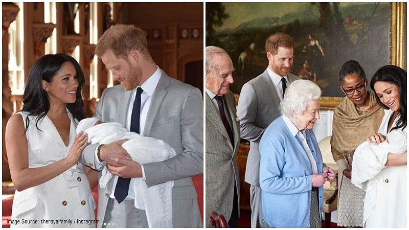 5 ways Meghan Markle and Prince Harry's son Archie Harrison made royal history