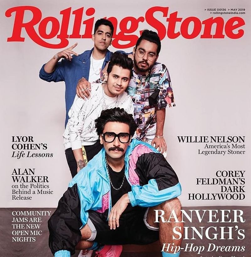 Ranveer Singh dazzles on 'Rolling Stone India' magazine cover