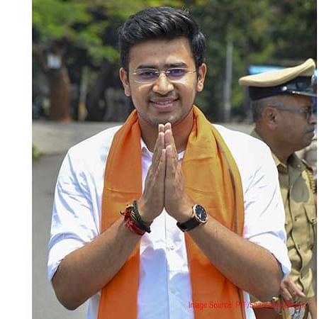 Jains attacked over use of Hindi: Tejasvi Surya