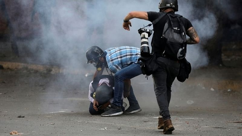 One dead, 46 hurt in Venezuela May Day clashes
