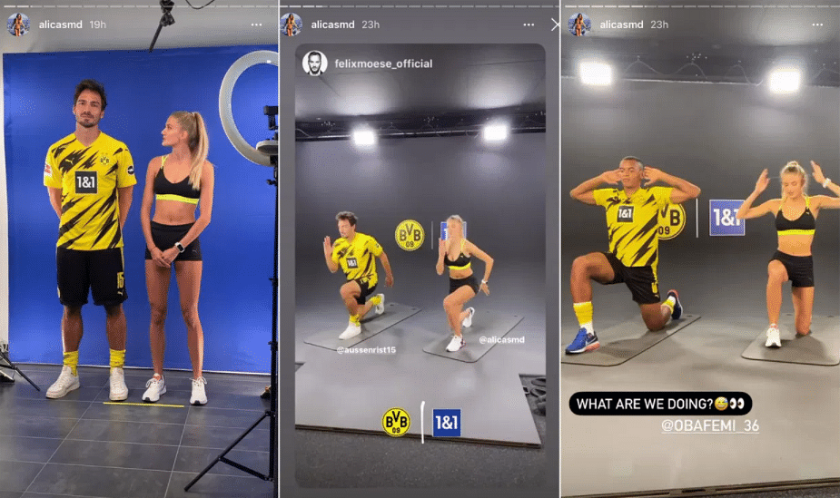Who Is Alica Schmidt Dortmund S New Fitness Coach Is Also The World S Sexiest Athlete