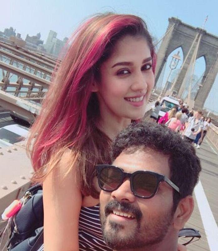 Tollywood director Vignesh Shivan celebrates birthday with Nayanthara in New York