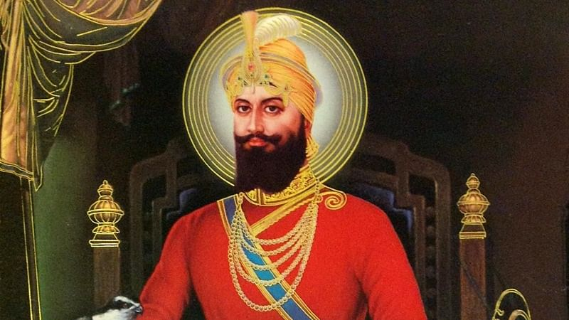 Image result for image of guru gobind singh""