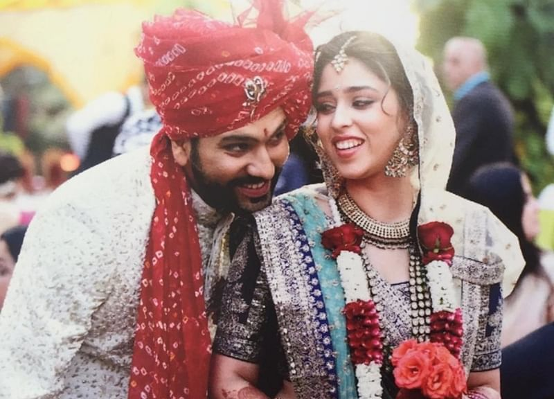 Image result for rohit sharma marriage pics