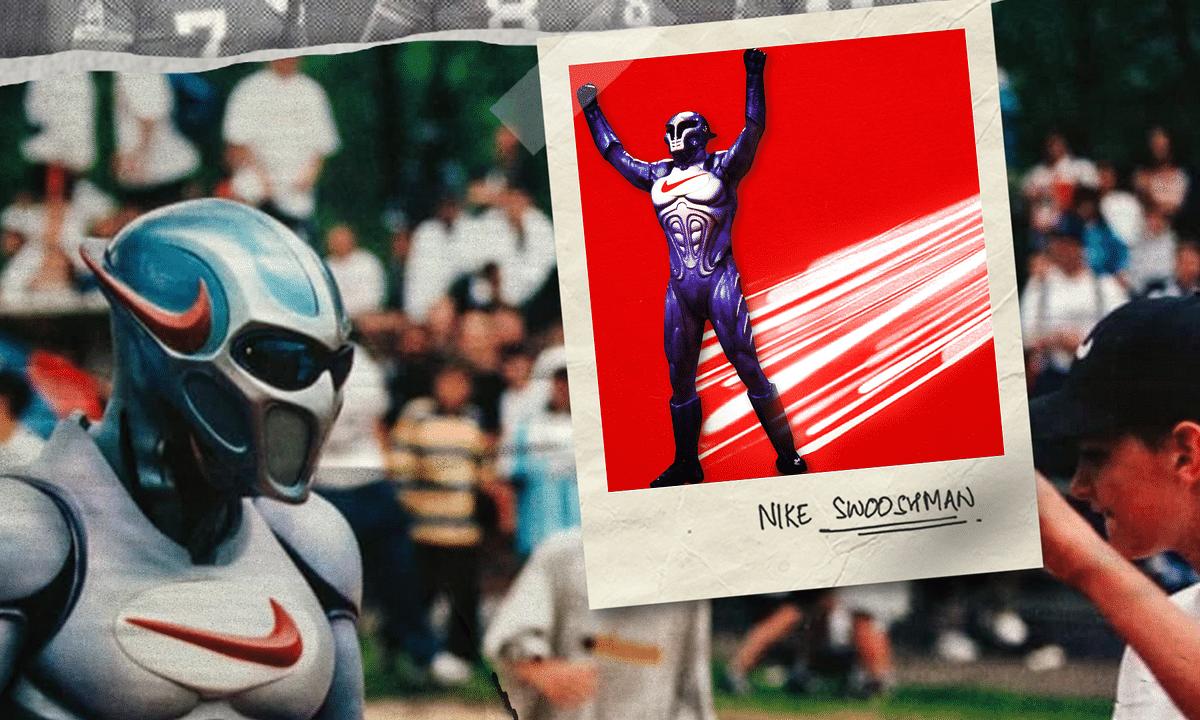 Swoosh Man: Nike's Very Own Superhero That Never Took  Off