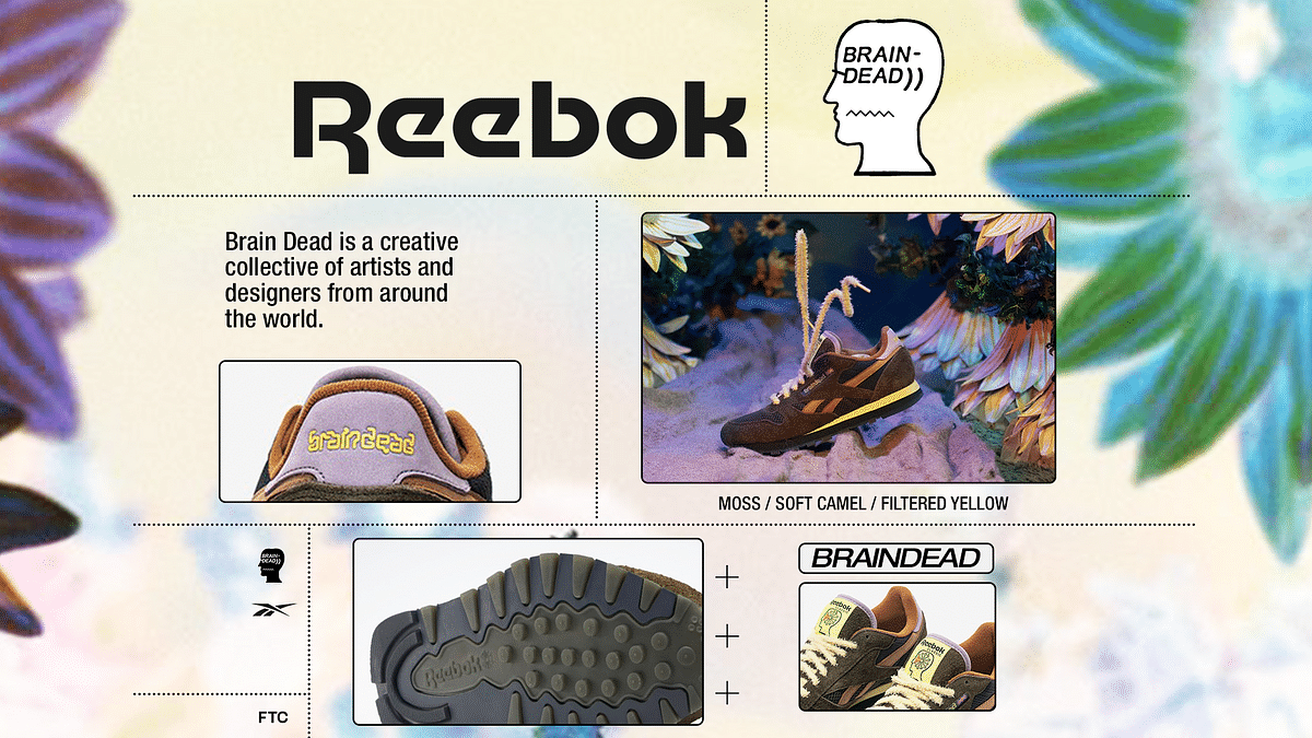 "Reebok and Brain Dead Recreate The ""Classic Leather"""