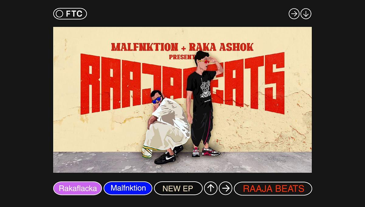 """Rakaflacka and Malfnktion Drop New Album """"Raaja Beats"""""""