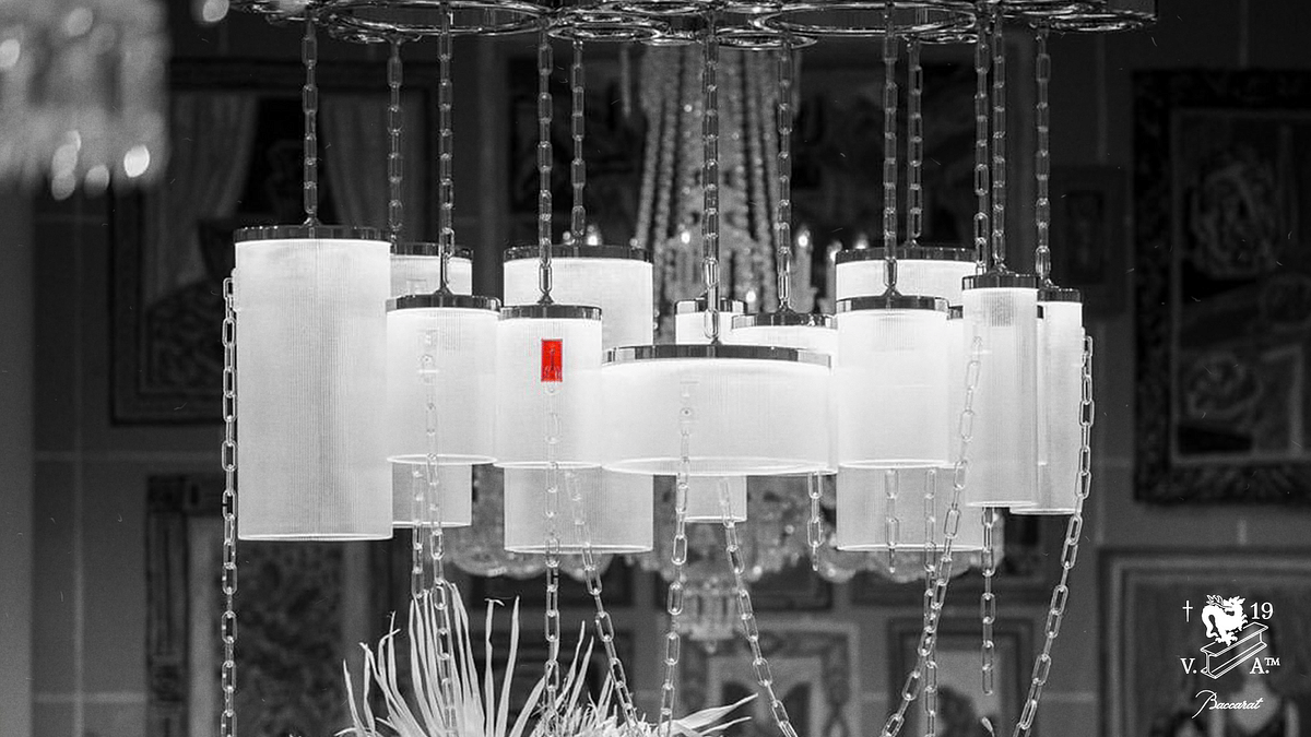 """Virgil Abloh x Baccarat Collection: """"Crystal Clear"""""""