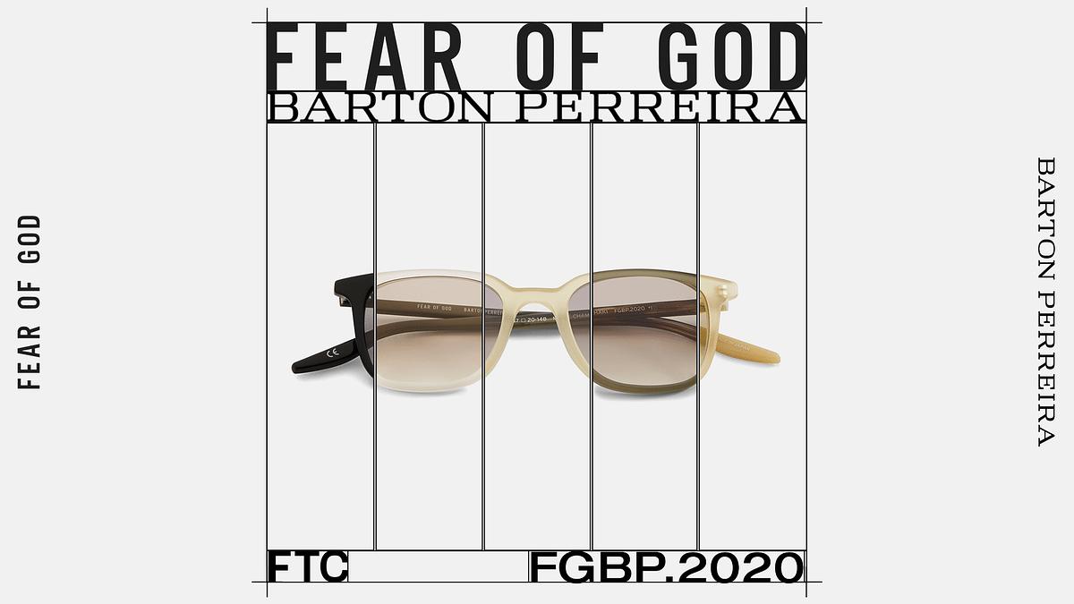 Barton Perreira Eyewear Gets A Fear Of God Makeover