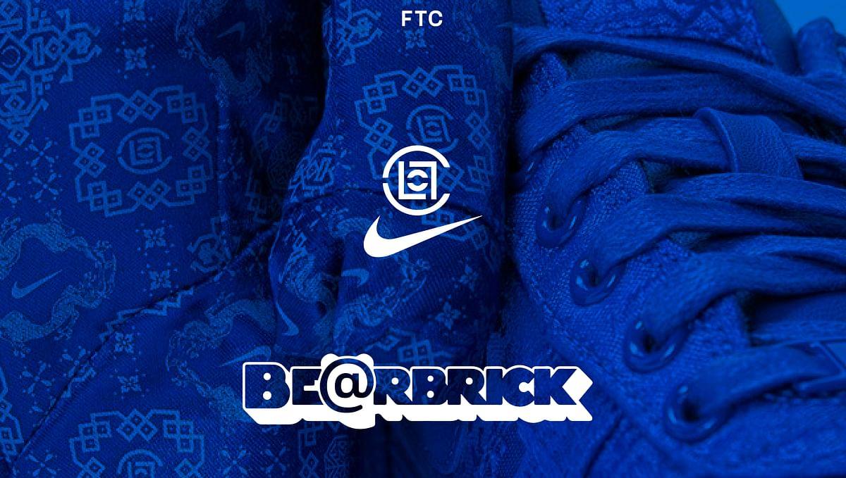 CLOT and Nike Drop The New Medicom Be@rbrick