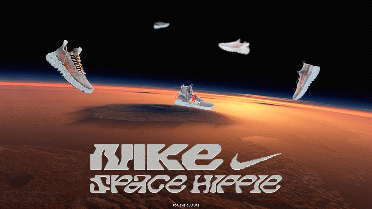 Nike's 'Space Hippie' Drop Is Tackling Waste In A Whole New Way
