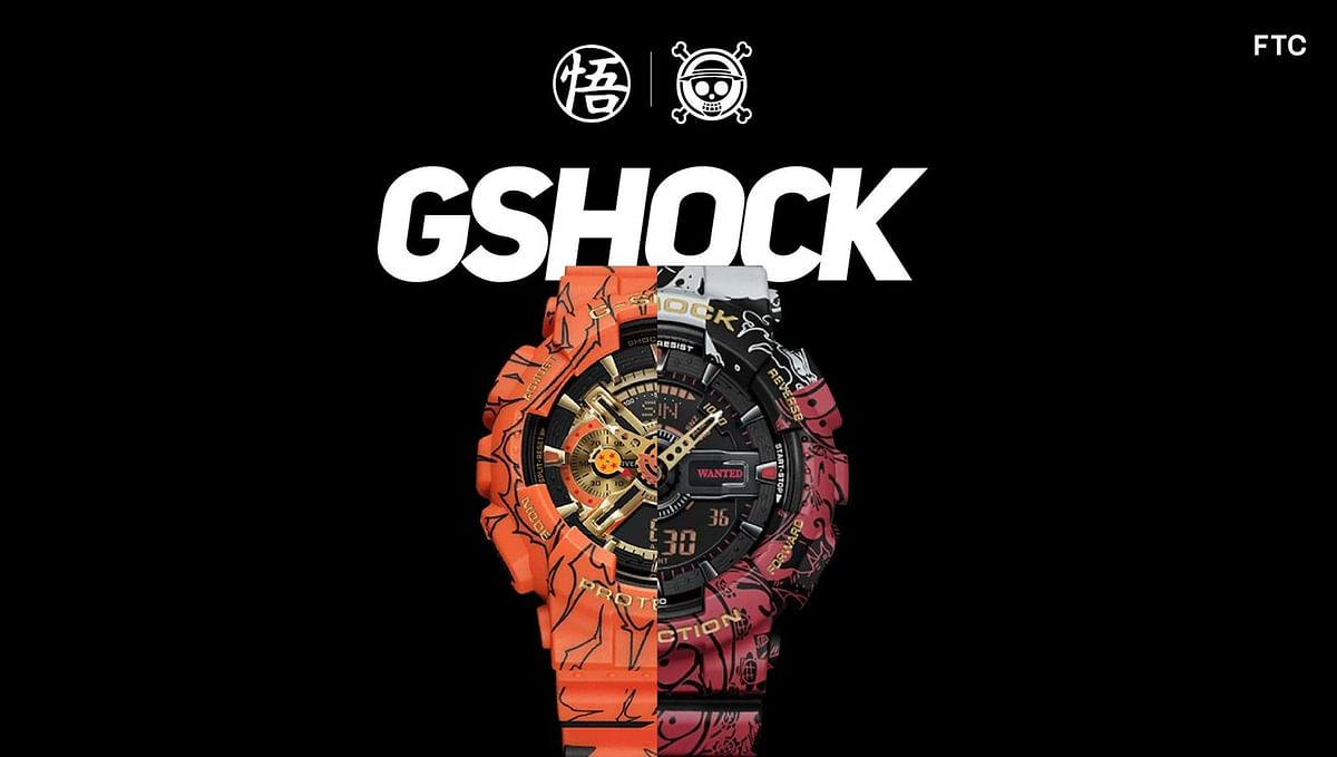 "G-Shock Releases Limited Edition ""Dragon Ball Z"" and ""One Piece"" Watches"