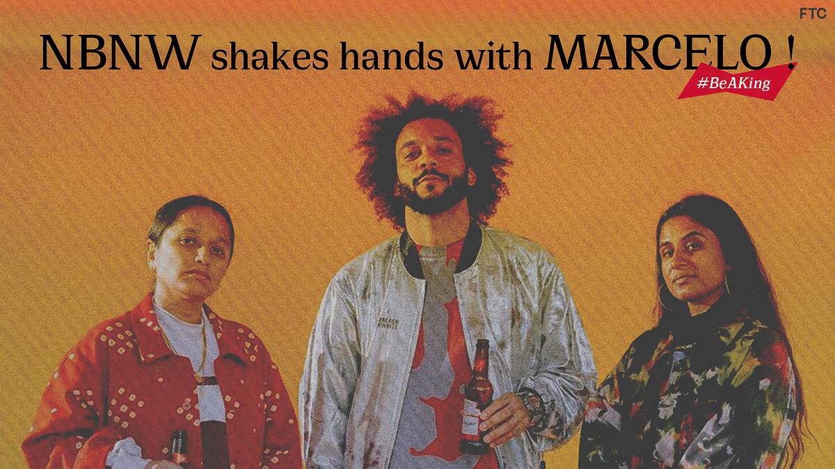NorBlack NorWhite Shakes Hands with Marcelo