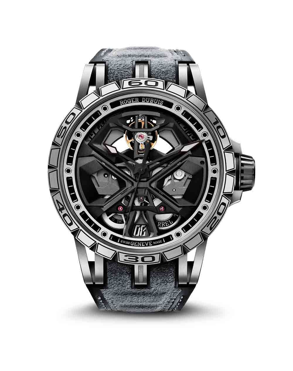 Roger Dubuis Excalibur Huracán featuring the new in-house movement: Caliber RD630