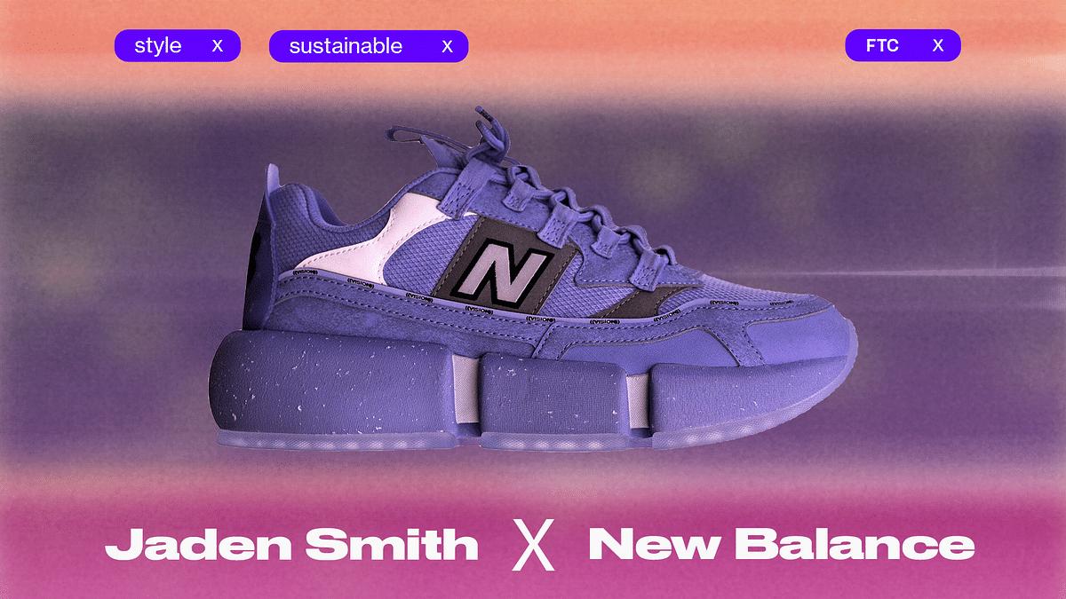 Jaden Smith's New Balance Venture