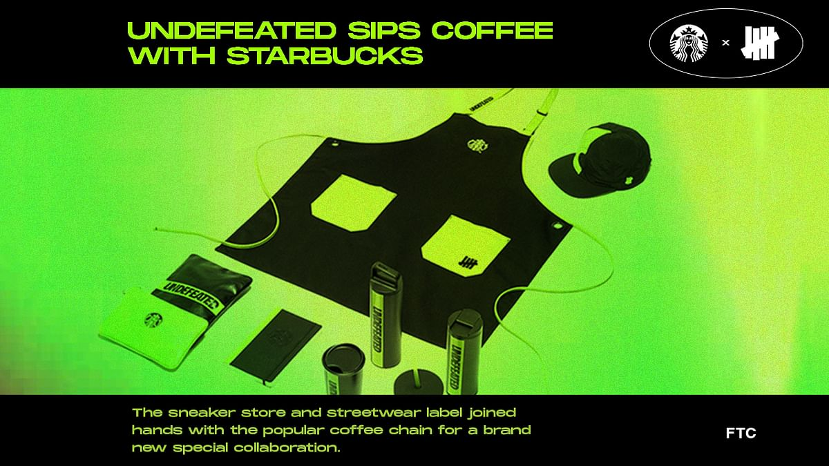 Undefeated Sips Coffee With Starbucks