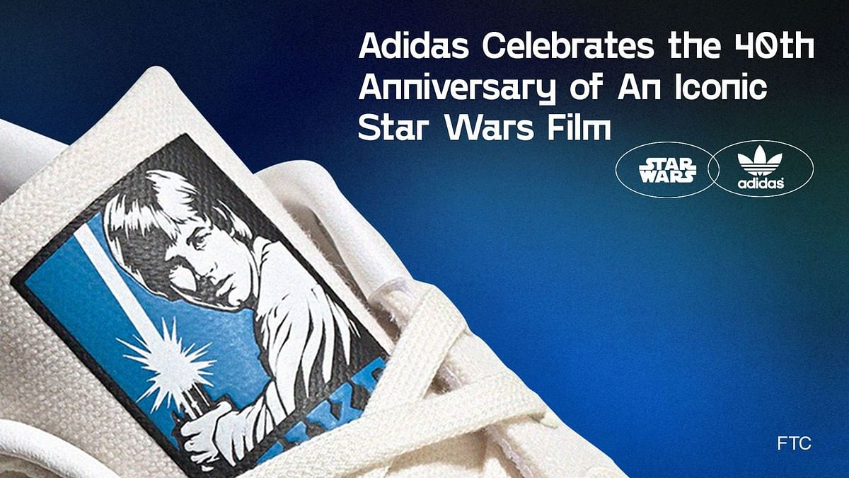 Adidas Celebrates the 40th Anniversary of An Iconic Star Wars Film