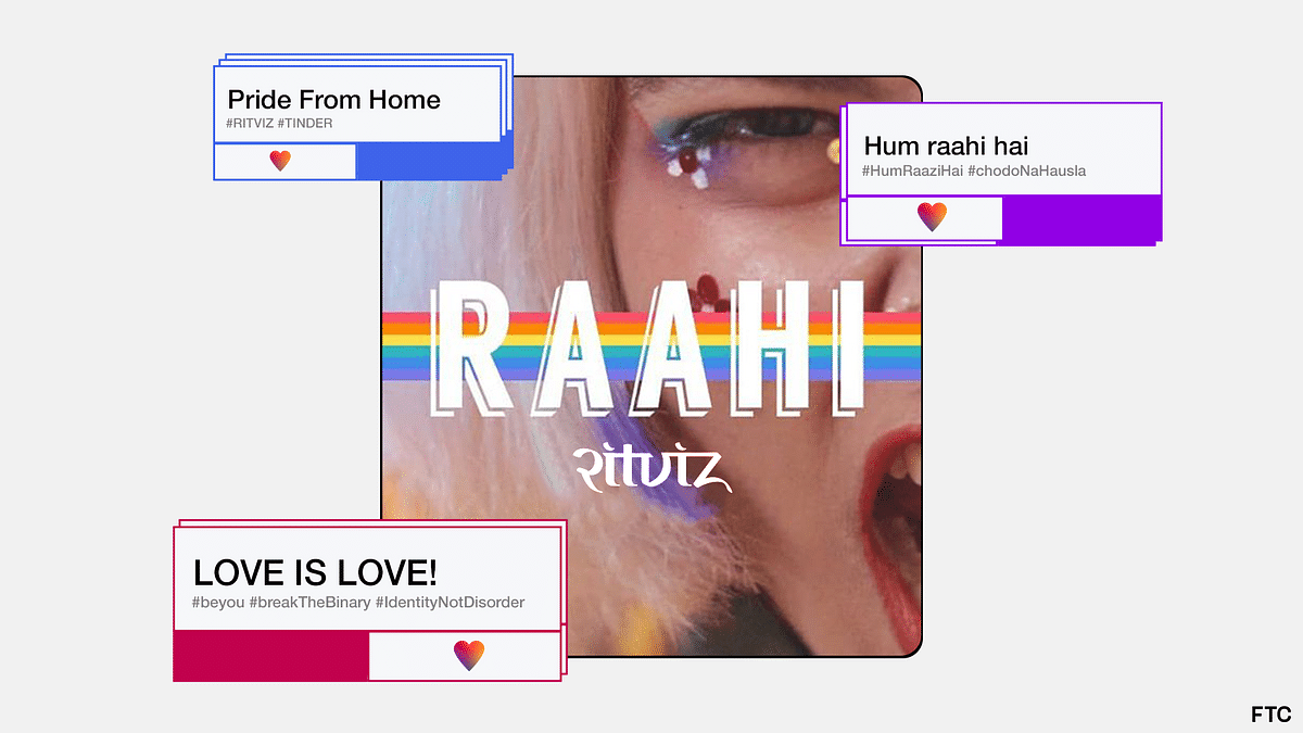 Ritviz and Tinder India Release India's First LGBTQ+ Pride Anthem