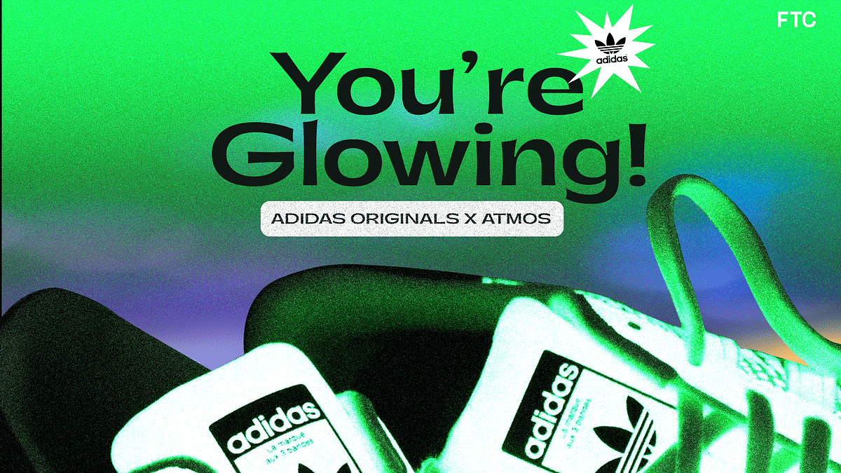 Adidas and Atmos Team Up For Special Glow-In-The Dark Superstars