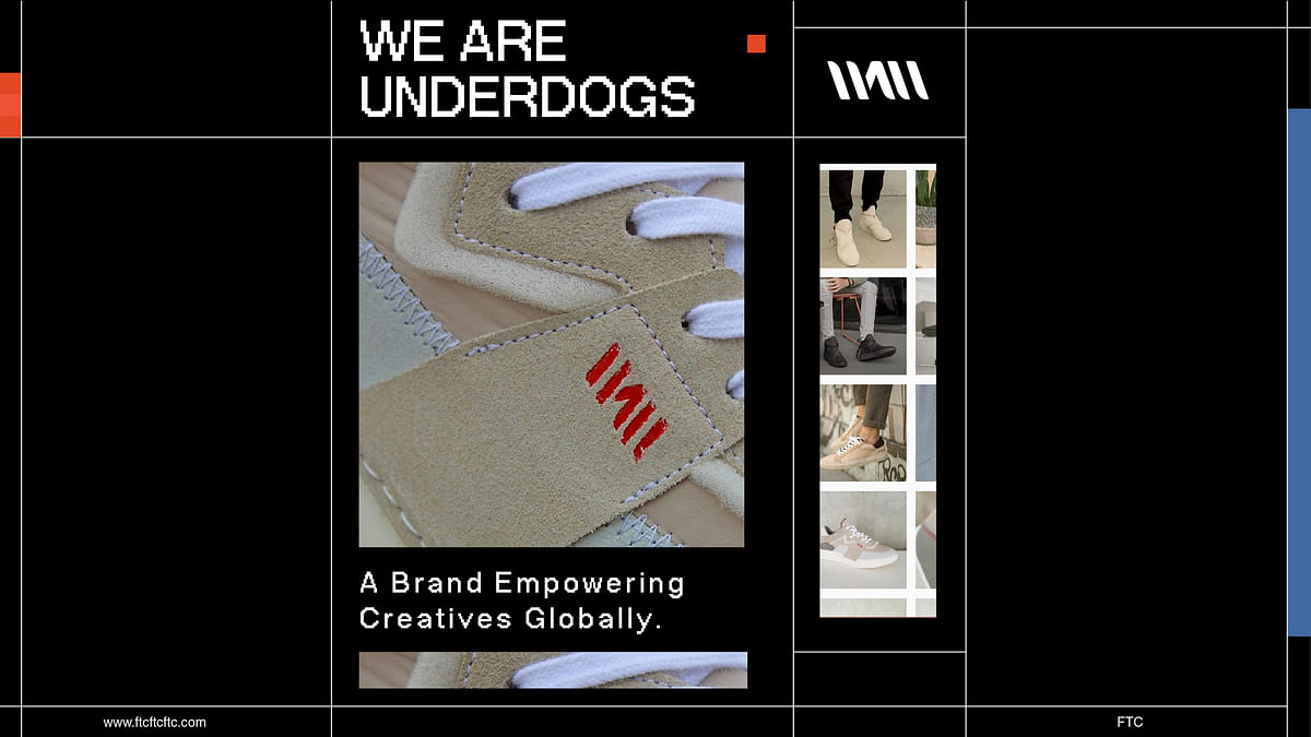 We Are Underdogs: A Brand Empowering Creatives Globally