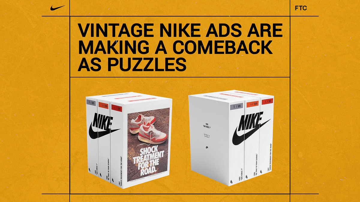 Vintage Nike Ads Are Making a Comeback as Puzzles Thanks To Recess Studios