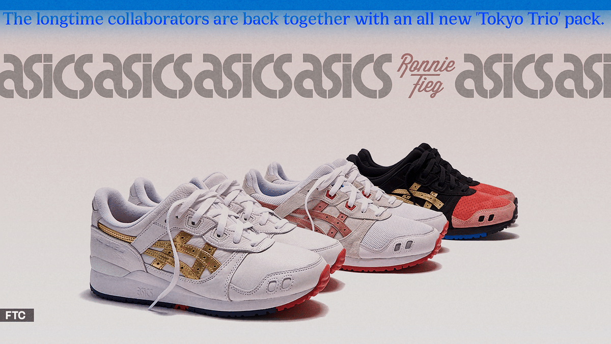 Ronnie Fieg and Asics Collaborate On A Special Gel Lyte III Pack