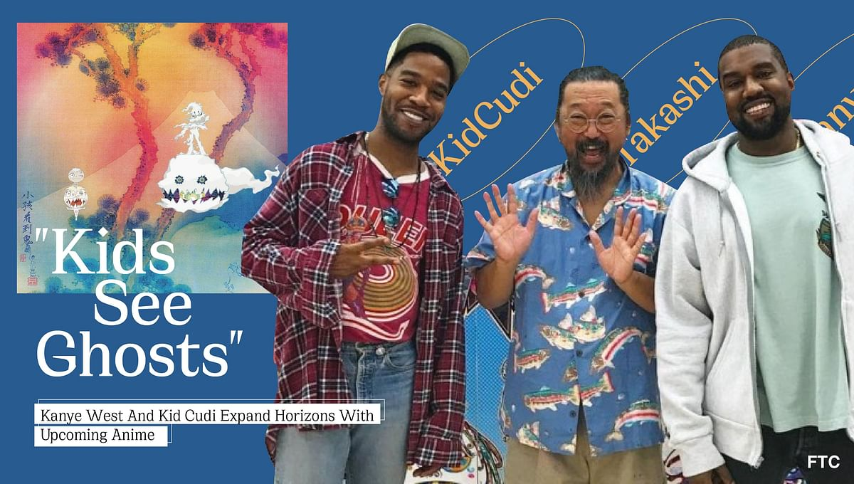 """Kanye West and Kid Cudi Expand Horizons With Upcoming Anime """"Kids See Ghosts"""""""