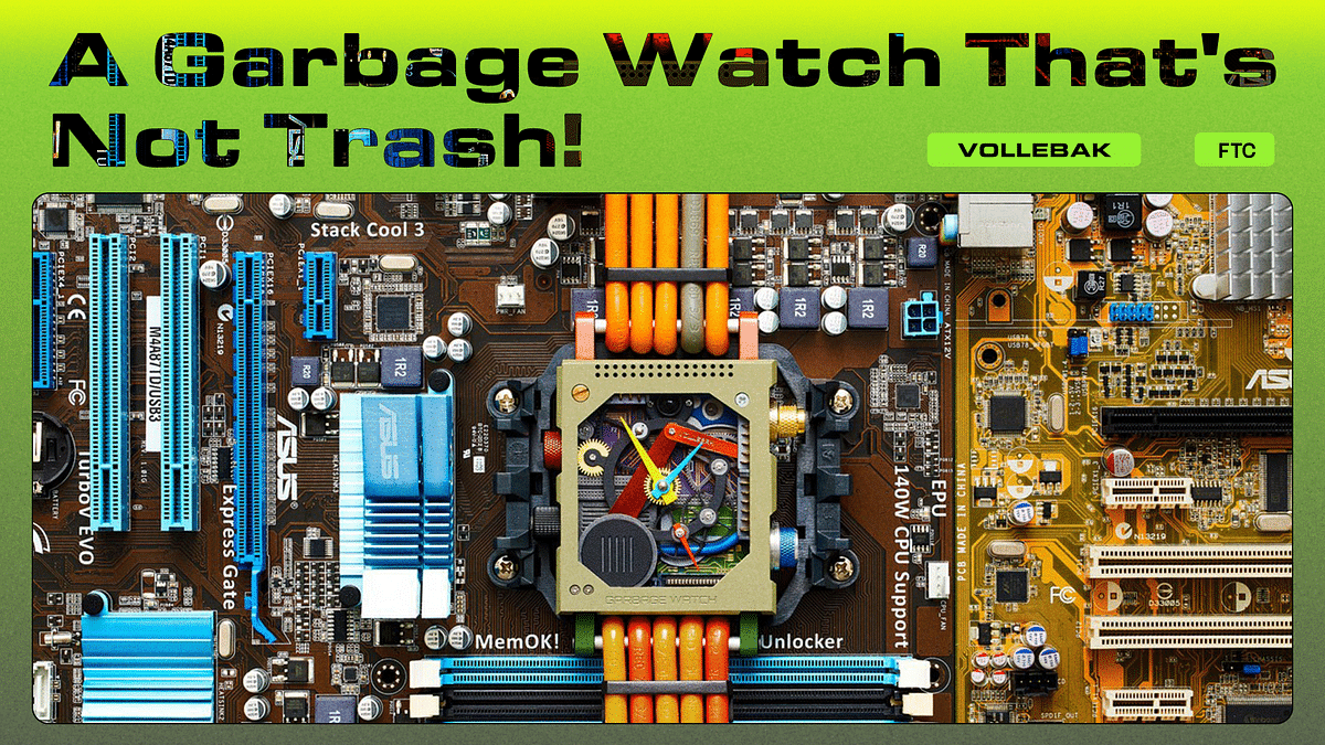 A Garbage Watch That's Not Trash