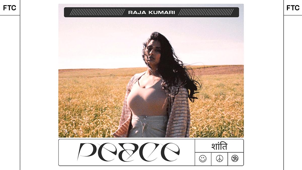 "Raja Kumari Is Back With Her New Single ""Peace"""