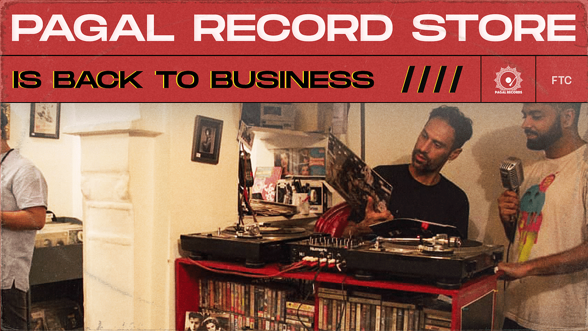Pagal Record Store Is Back To Business After A Brief Pause