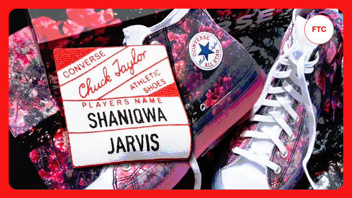 Converse Teams Up With Shaniqwa Jarvis for Their Latest Collaboration