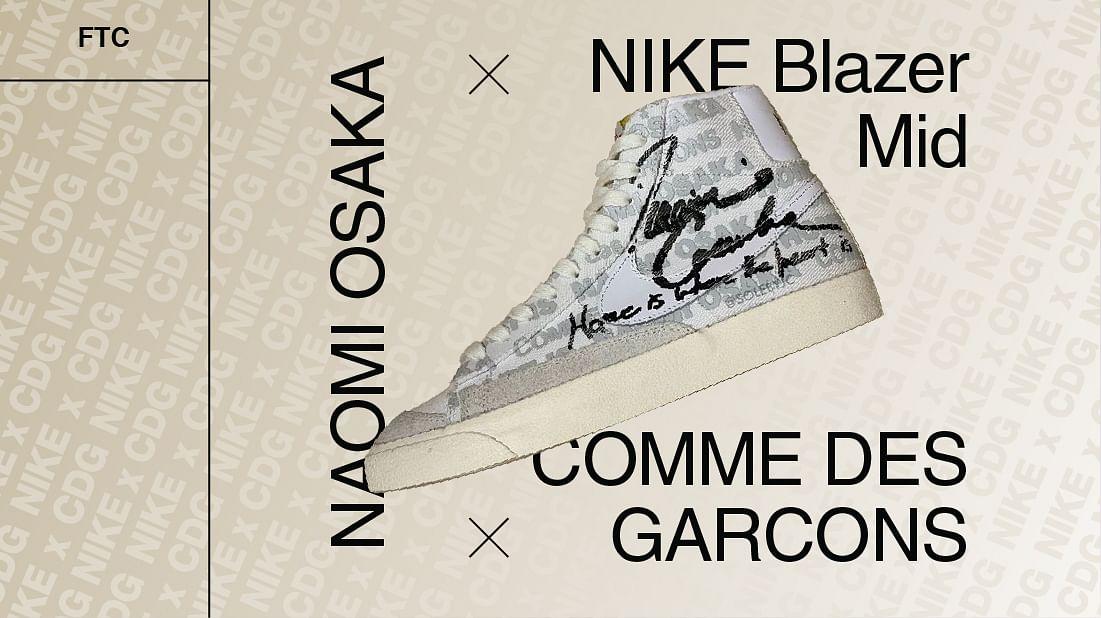 The Nike Blazer Gets A Comme Des Garcons x Naomi Osaka Treatment