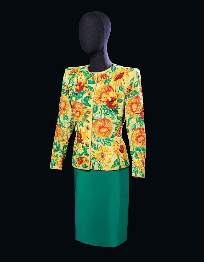 'Sunflower' Jacket from SS 1988 Haute Couture