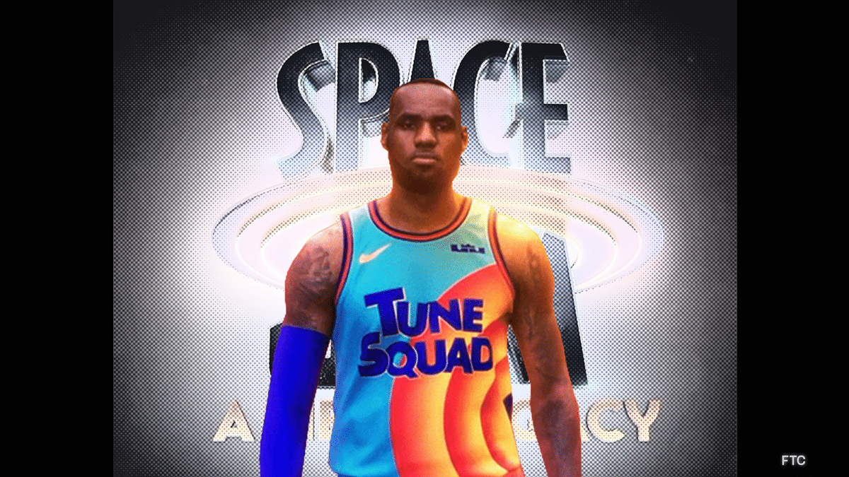 LeBron James Reveals First Look At the Space Jam Uniform