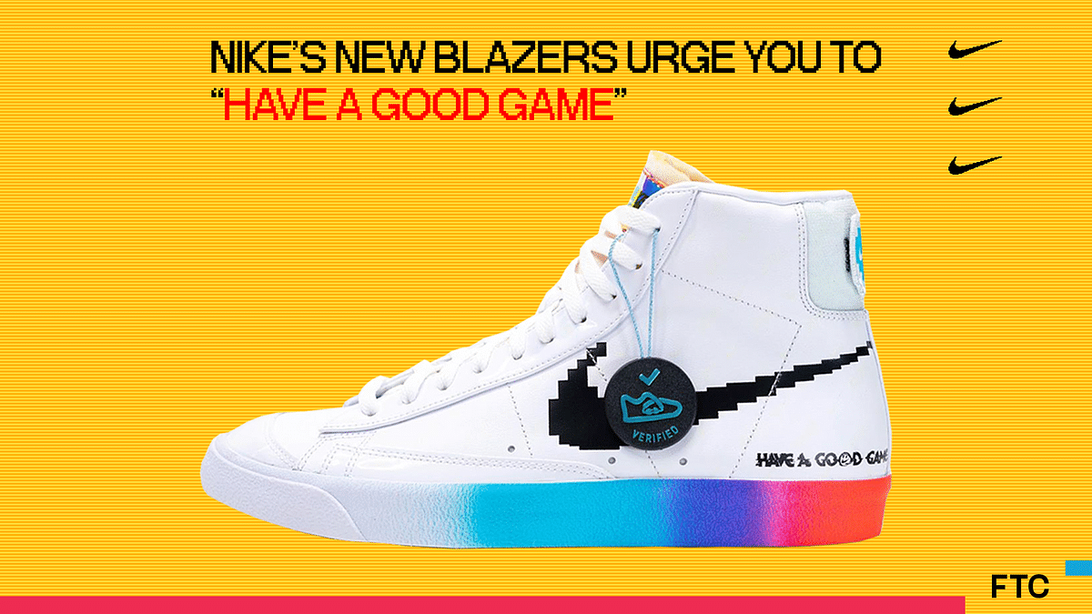 """Nike's New Blazers Urge You To """"Have A Good Game"""""""