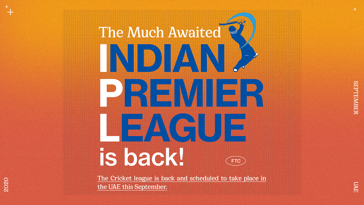 The Much Awaited IPL Is Back This Season