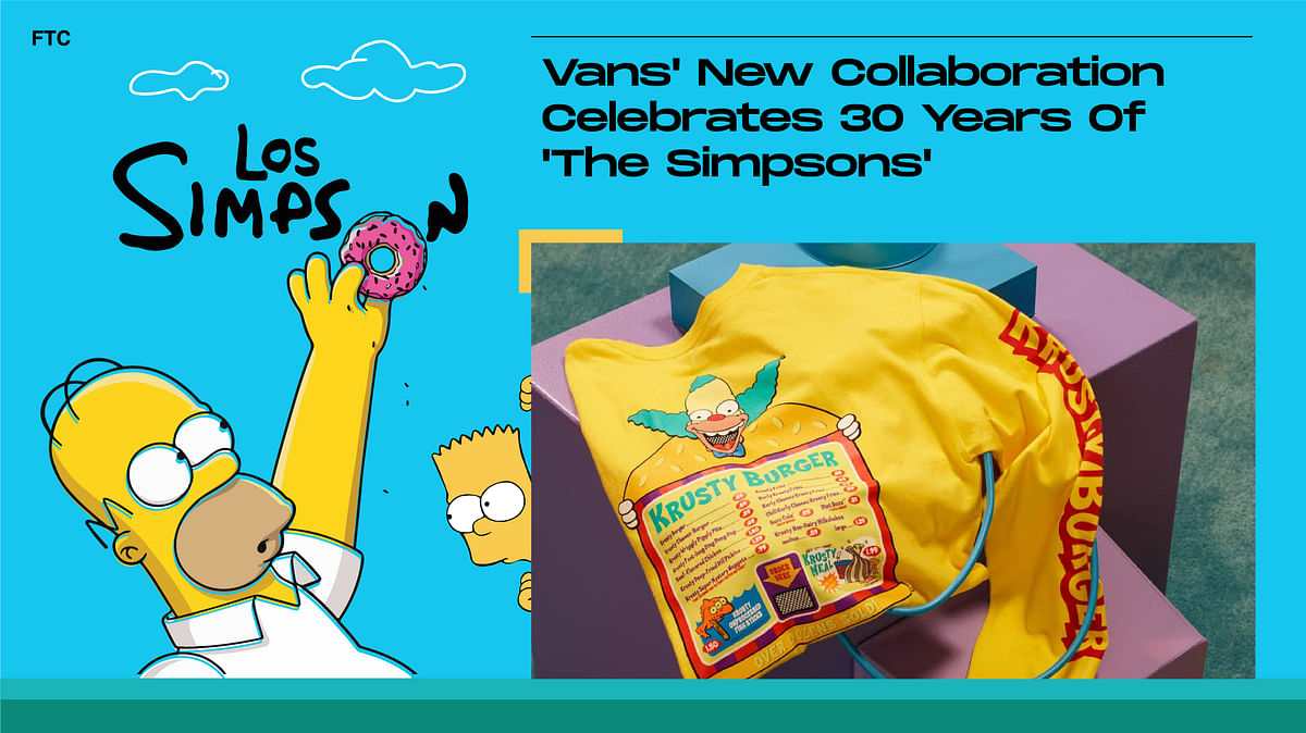 Vans' New Collaboration Celebrates 30 Years Of 'The Simpsons'
