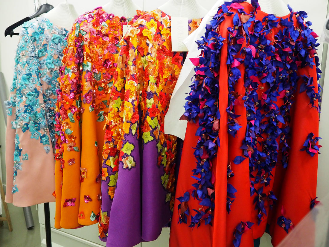 Gazar Capes from SS/1989 Haute Couture collection