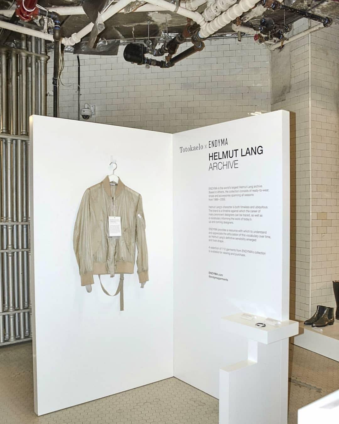 ENDYMA Archive installation at 190-Bowery, NY