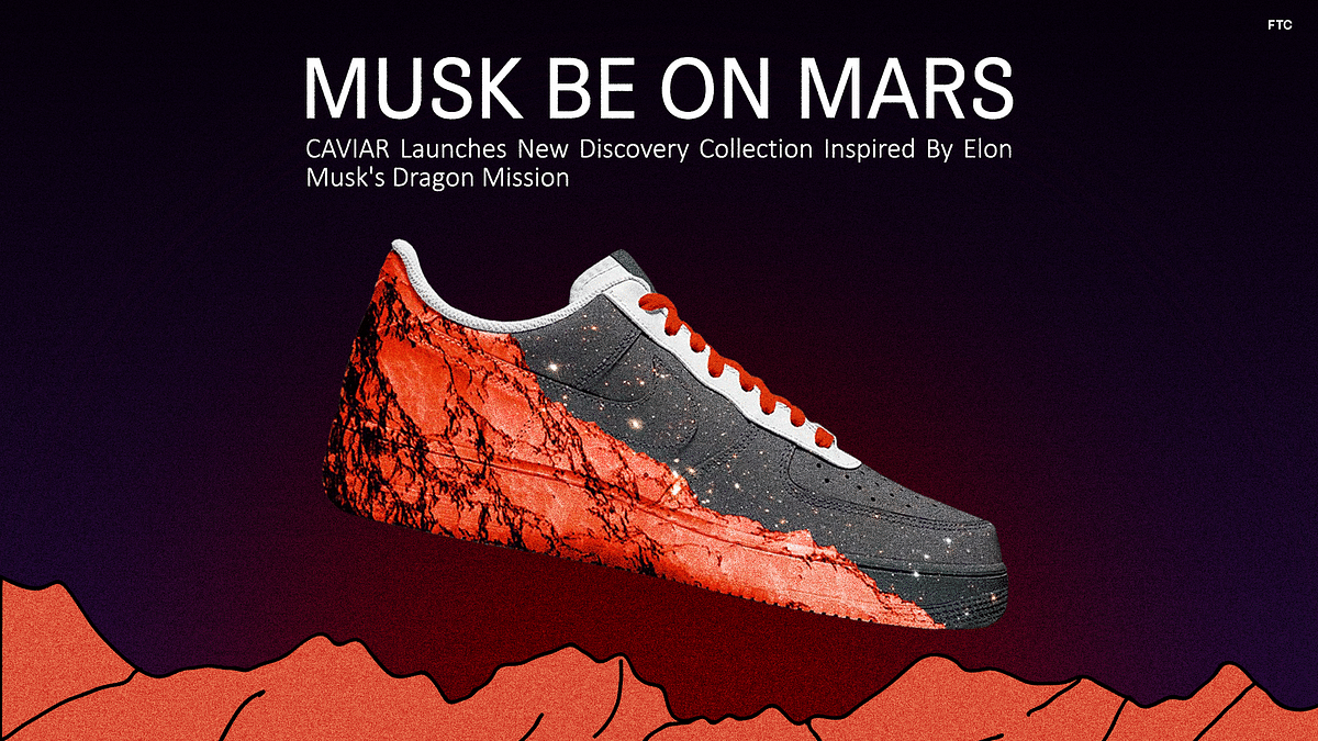 CAVIAR Launches New Discovery Collection Inspired By Elon Musk's Dragon Mission