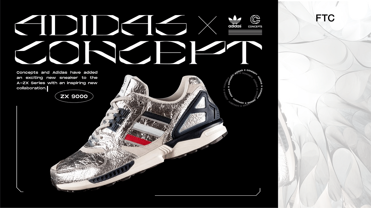 Adidas and Concepts Come Together To Innovate The ZX 9000