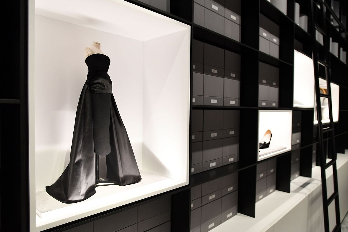The Dior Archive in Paris