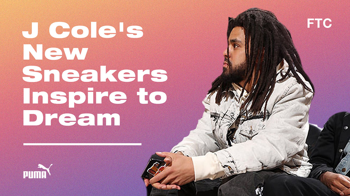 J Cole's New Sneakers Inspire To Dream