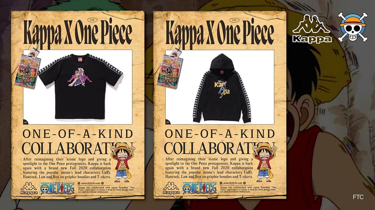 Kappa and One Piece Are Back With Their New FW20 Collaboration