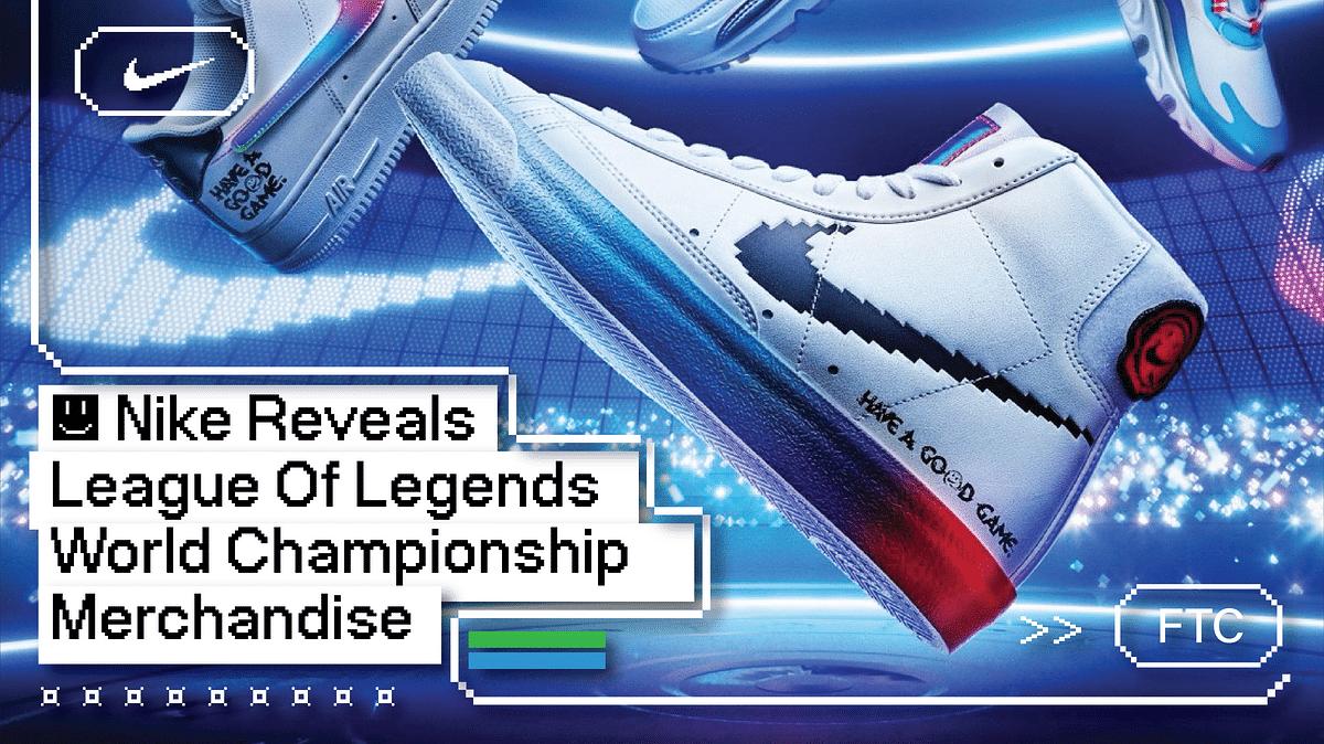 Nike Reveals League Of Legends World Championship Merchandise