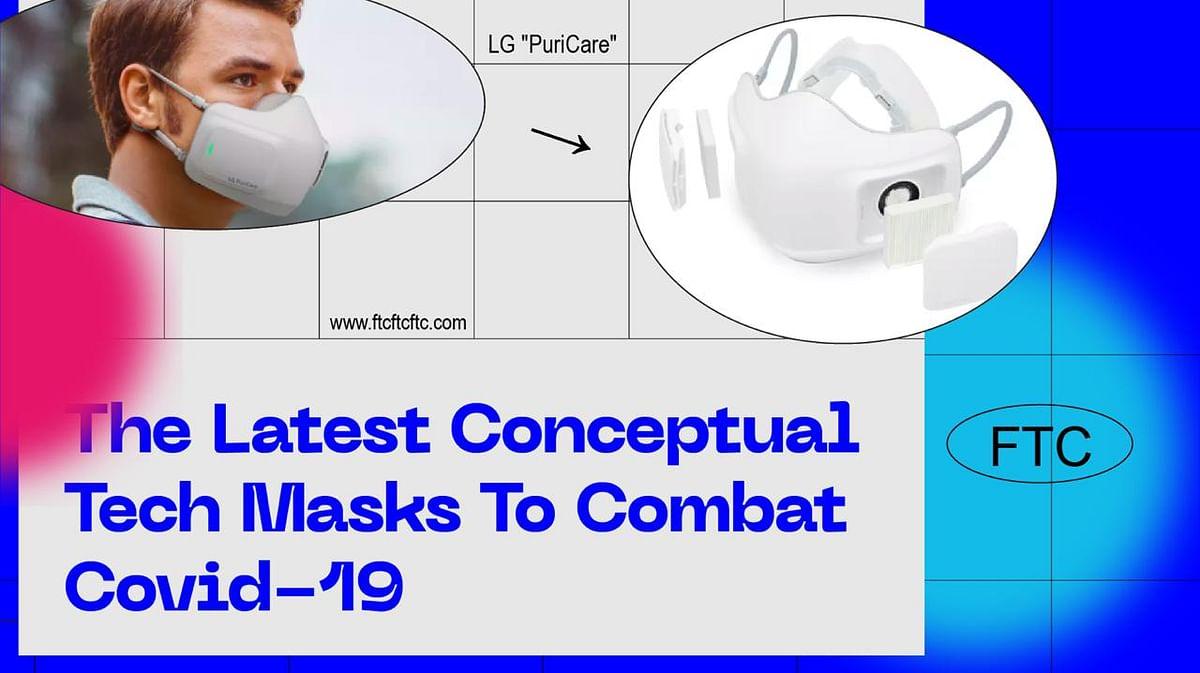 The Latest Conceptual Tech Masks To Combat Covid-19