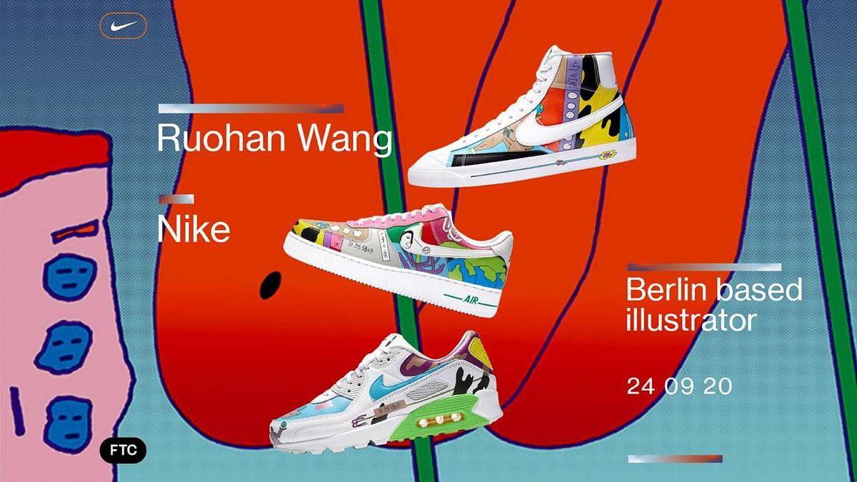 Ruohan Wang Redesigns Nike Classics