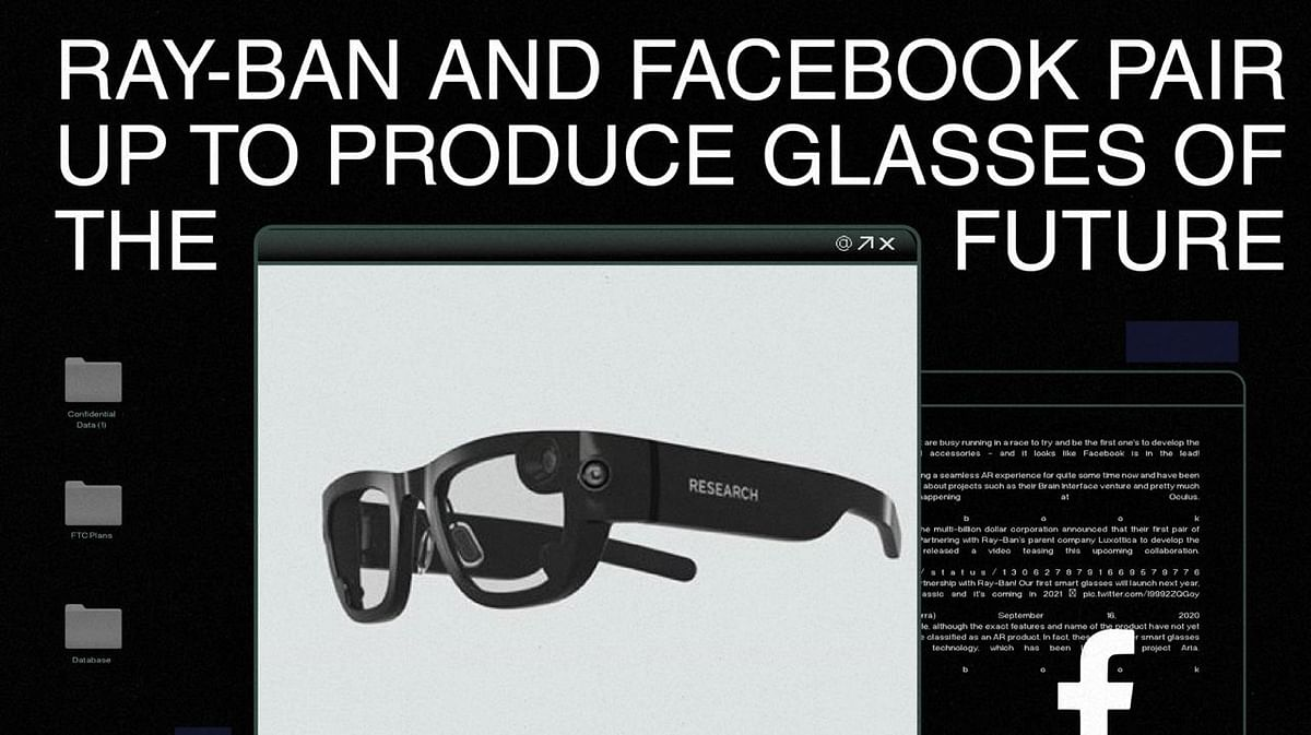 Ray-Ban And Facebook Pair Up To Produce Glasses Of The Future