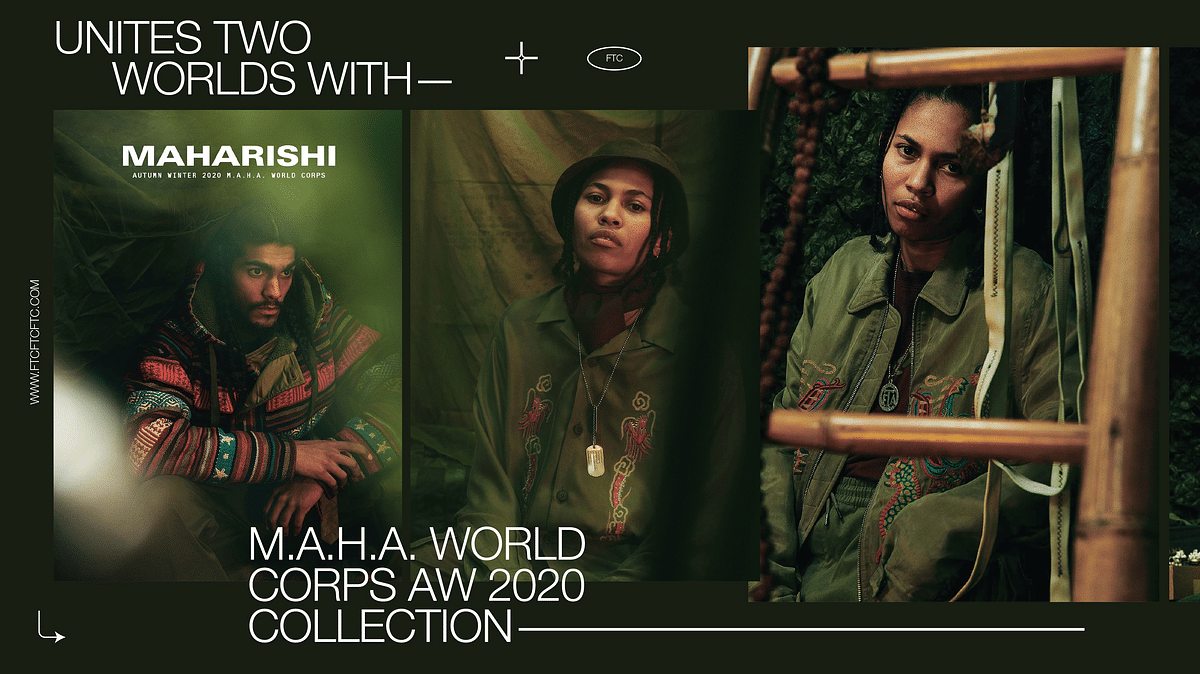 Maharishi Unites Two Worlds With M.A.H.A. World Corps AW 2020 Collection